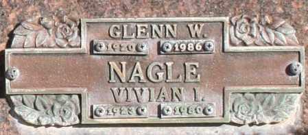 NAGLE, VIVIAN I - Maricopa County, Arizona   VIVIAN I NAGLE - Arizona Gravestone Photos