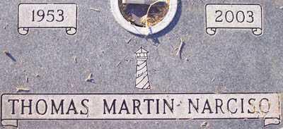 NARCISO, THOMAS MARTIN - Maricopa County, Arizona | THOMAS MARTIN NARCISO - Arizona Gravestone Photos