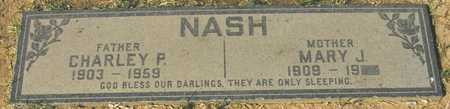 NASH, CHARLEY P. - Maricopa County, Arizona | CHARLEY P. NASH - Arizona Gravestone Photos