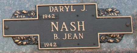 NASH, B. JEAN - Maricopa County, Arizona | B. JEAN NASH - Arizona Gravestone Photos