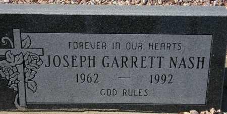 NASH, JOSEPH GARRETT - Maricopa County, Arizona   JOSEPH GARRETT NASH - Arizona Gravestone Photos