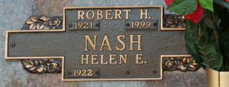 NASH, ROBERT H - Maricopa County, Arizona | ROBERT H NASH - Arizona Gravestone Photos