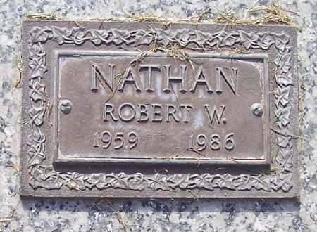 NATHAN, ROBERT W. - Maricopa County, Arizona | ROBERT W. NATHAN - Arizona Gravestone Photos