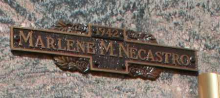 NECASTRO, MARLENE M - Maricopa County, Arizona | MARLENE M NECASTRO - Arizona Gravestone Photos