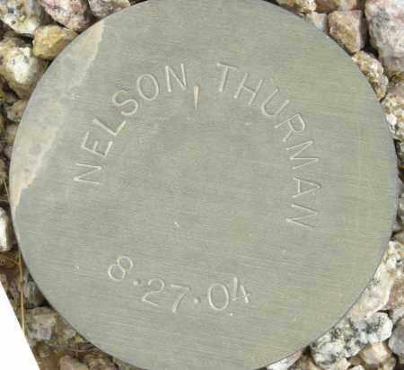 NELSON, THURMAN - Maricopa County, Arizona   THURMAN NELSON - Arizona Gravestone Photos