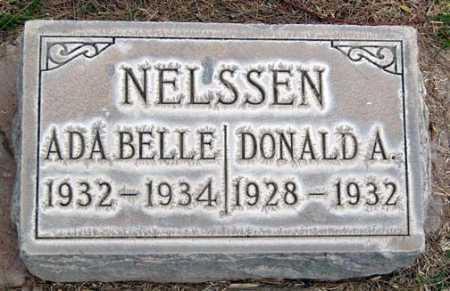 NELSSEN, ADA BELLE - Maricopa County, Arizona | ADA BELLE NELSSEN - Arizona Gravestone Photos