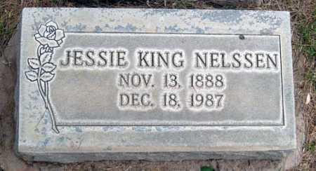 KING NELSSEN, JESSIE - Maricopa County, Arizona | JESSIE KING NELSSEN - Arizona Gravestone Photos