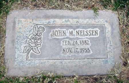 NELSSEN, JOHN M. - Maricopa County, Arizona | JOHN M. NELSSEN - Arizona Gravestone Photos