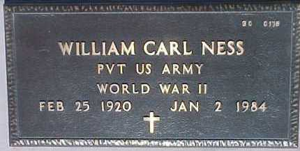 NESS, WILLIAM CARL - Maricopa County, Arizona | WILLIAM CARL NESS - Arizona Gravestone Photos