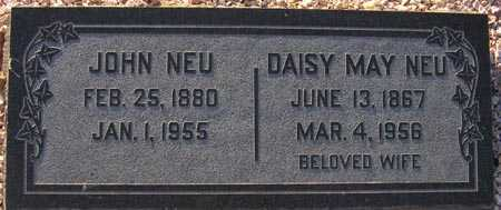 NEU, DAISY MAY - Maricopa County, Arizona | DAISY MAY NEU - Arizona Gravestone Photos