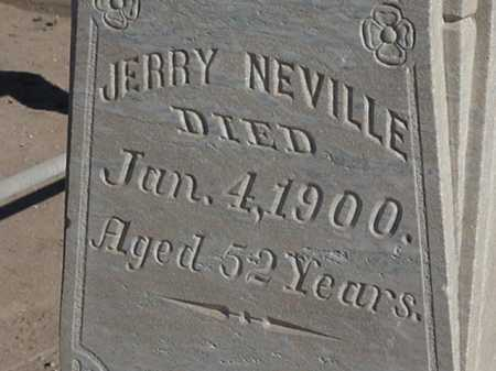 NEVILLE, JERRY - Maricopa County, Arizona | JERRY NEVILLE - Arizona Gravestone Photos