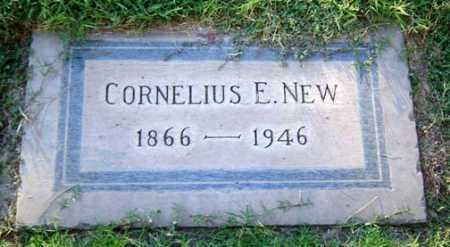 NEW, CORNELIUS E. - Maricopa County, Arizona   CORNELIUS E. NEW - Arizona Gravestone Photos