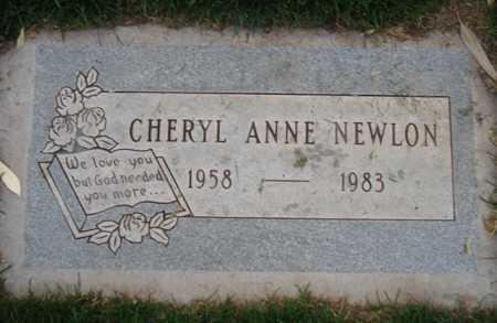 NEWLON, CHERYL ANNE - Maricopa County, Arizona | CHERYL ANNE NEWLON - Arizona Gravestone Photos
