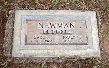 NEWMAN, EARL LUCIAN - Maricopa County, Arizona | EARL LUCIAN NEWMAN - Arizona Gravestone Photos