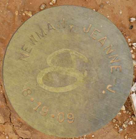 NEWMAN, JEANNE J. - Maricopa County, Arizona | JEANNE J. NEWMAN - Arizona Gravestone Photos
