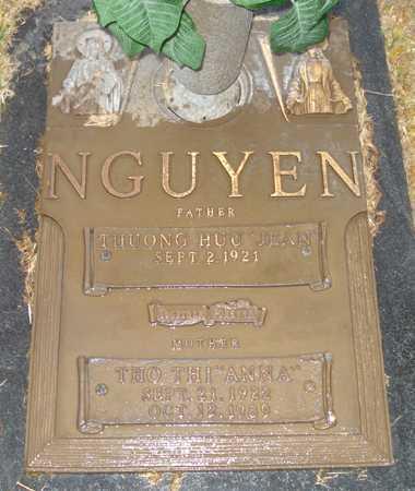 "NGUYEN, THUONG HUU ""JEAN"" - Maricopa County, Arizona   THUONG HUU ""JEAN"" NGUYEN - Arizona Gravestone Photos"