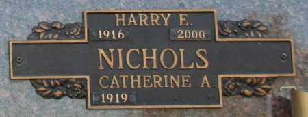 NICHOLS, HARRY E - Maricopa County, Arizona | HARRY E NICHOLS - Arizona Gravestone Photos
