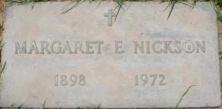 NICKSON, MARGARET E. - Maricopa County, Arizona | MARGARET E. NICKSON - Arizona Gravestone Photos