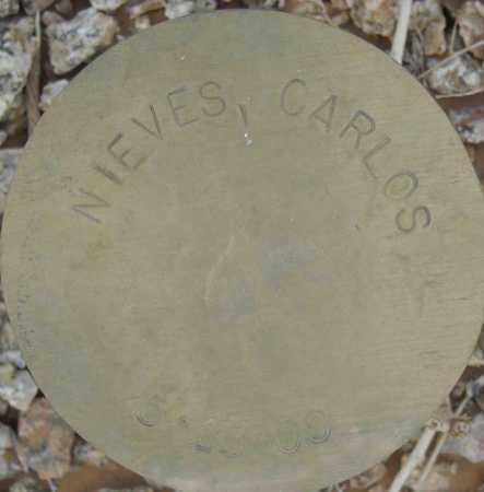 NIEVES, CARLOS - Maricopa County, Arizona   CARLOS NIEVES - Arizona Gravestone Photos