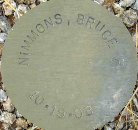 NIMMONS, BRUCE R. - Maricopa County, Arizona | BRUCE R. NIMMONS - Arizona Gravestone Photos