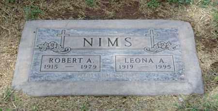 NIMS, ROBERT ASA - Maricopa County, Arizona | ROBERT ASA NIMS - Arizona Gravestone Photos