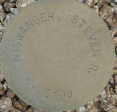 NISWANGER, STEVEN R. - Maricopa County, Arizona | STEVEN R. NISWANGER - Arizona Gravestone Photos