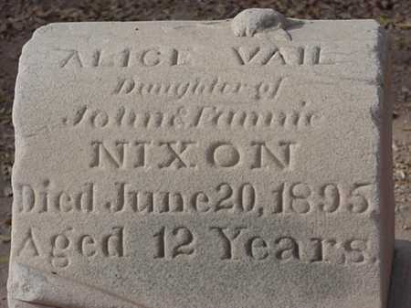 NIXON, ALICE VAIL - Maricopa County, Arizona | ALICE VAIL NIXON - Arizona Gravestone Photos