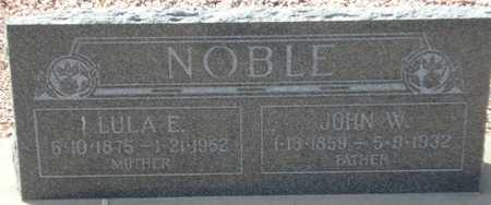 NOBLE, JOHN W. - Maricopa County, Arizona | JOHN W. NOBLE - Arizona Gravestone Photos