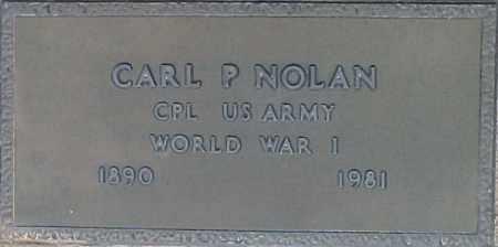 NOLAN, CARL P - Maricopa County, Arizona | CARL P NOLAN - Arizona Gravestone Photos