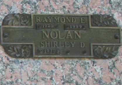 NOLAN, RAYMOND E - Maricopa County, Arizona | RAYMOND E NOLAN - Arizona Gravestone Photos
