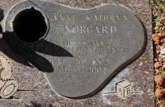 NORGARD, ANNE KATHRYN - Maricopa County, Arizona   ANNE KATHRYN NORGARD - Arizona Gravestone Photos
