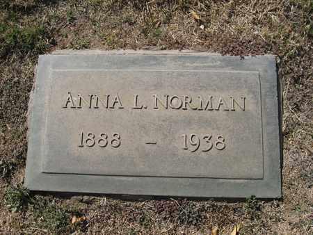 ERICKSON NORMAN, ANNA - Maricopa County, Arizona | ANNA ERICKSON NORMAN - Arizona Gravestone Photos