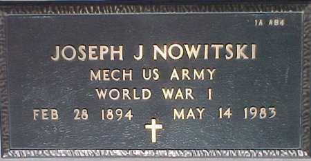NOWITSKI, JOSEPH J. - Maricopa County, Arizona | JOSEPH J. NOWITSKI - Arizona Gravestone Photos