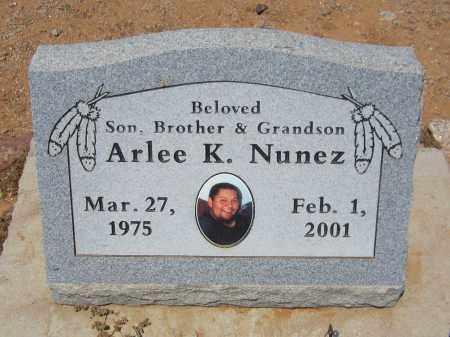 NUNEZ, ARLEE K. - Maricopa County, Arizona | ARLEE K. NUNEZ - Arizona Gravestone Photos