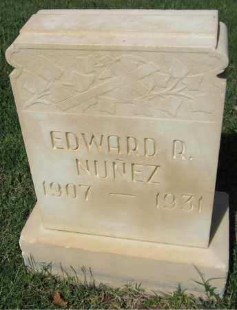 NUNEZ, EDWARD R. - Maricopa County, Arizona | EDWARD R. NUNEZ - Arizona Gravestone Photos