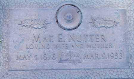 NUTTER, MAE E. - Maricopa County, Arizona | MAE E. NUTTER - Arizona Gravestone Photos