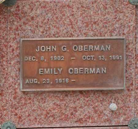 OBERMAN, JOHN G. - Maricopa County, Arizona | JOHN G. OBERMAN - Arizona Gravestone Photos