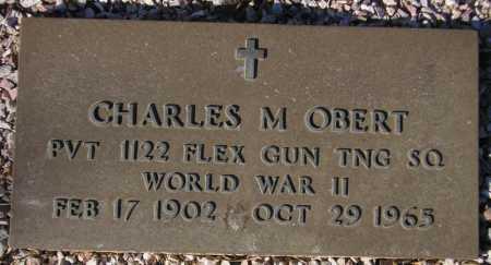 OBERT, CHARLES M. - Maricopa County, Arizona | CHARLES M. OBERT - Arizona Gravestone Photos