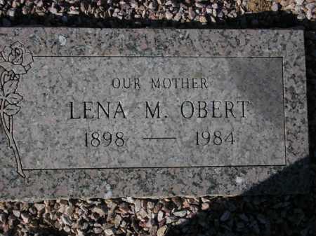 OBERT, LENA M. - Maricopa County, Arizona | LENA M. OBERT - Arizona Gravestone Photos