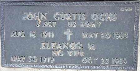 OCHS, ELEANOR M. - Maricopa County, Arizona   ELEANOR M. OCHS - Arizona Gravestone Photos