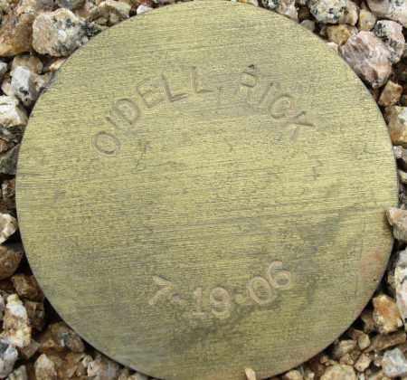 O'DELL, RICK - Maricopa County, Arizona   RICK O'DELL - Arizona Gravestone Photos