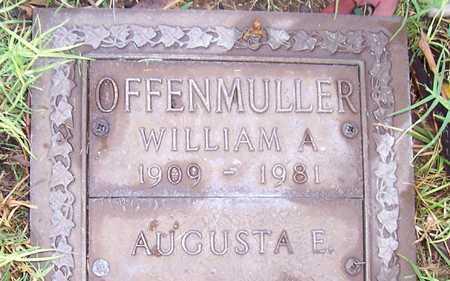 OFFENMULLER, AUGUSTA E. - Maricopa County, Arizona | AUGUSTA E. OFFENMULLER - Arizona Gravestone Photos