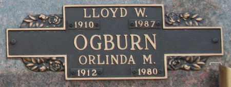 OGBURN, LLOYD W - Maricopa County, Arizona   LLOYD W OGBURN - Arizona Gravestone Photos