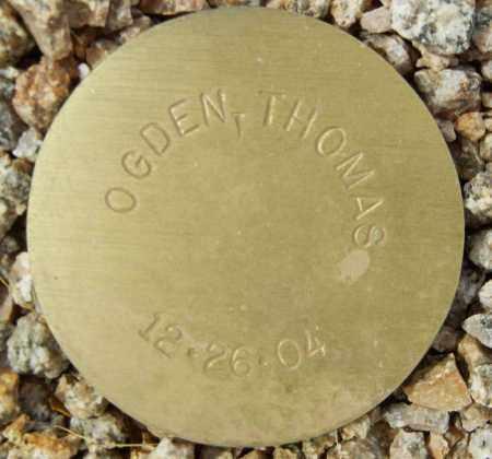 OGDEN, THOMAS - Maricopa County, Arizona | THOMAS OGDEN - Arizona Gravestone Photos