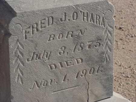O'HARA, FRED J - Maricopa County, Arizona   FRED J O'HARA - Arizona Gravestone Photos
