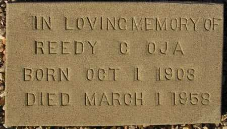 OJA, REEDY C. - Maricopa County, Arizona | REEDY C. OJA - Arizona Gravestone Photos