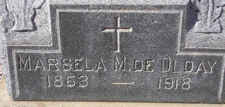 OLDAY, MARSELA M. - Maricopa County, Arizona | MARSELA M. OLDAY - Arizona Gravestone Photos