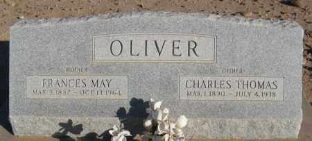 OLIVER, FRANCES MAY - Maricopa County, Arizona | FRANCES MAY OLIVER - Arizona Gravestone Photos