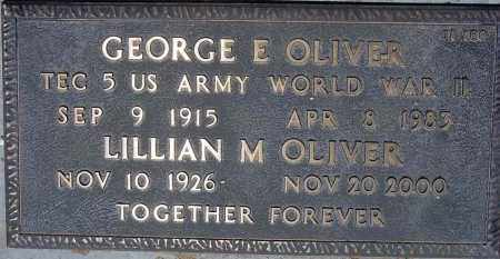 OLIVER, LILLIAN M. - Maricopa County, Arizona | LILLIAN M. OLIVER - Arizona Gravestone Photos