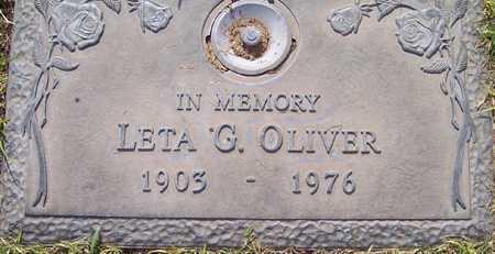 OLIVER, LETA G. - Maricopa County, Arizona | LETA G. OLIVER - Arizona Gravestone Photos